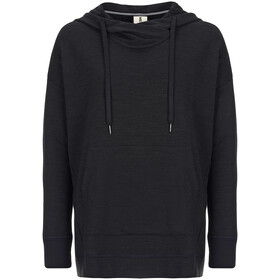 super.natural City Funnel Sudadera Mujer, jet black
